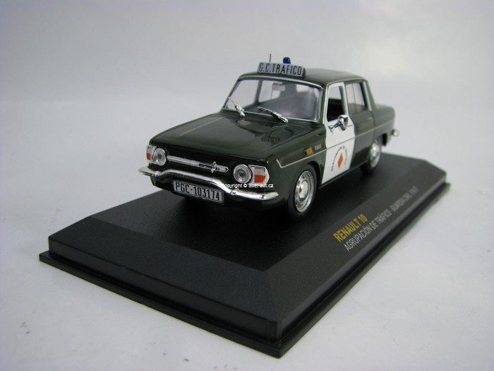 Renault 10 Guardia Civil 1967 1:43 Atlas Bazar